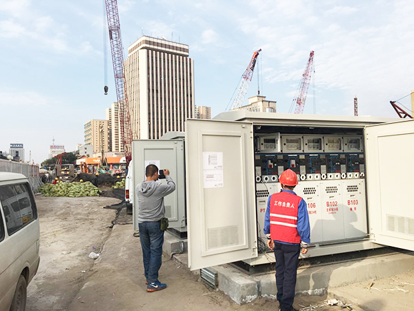 Metro Line 2 project in Taiyuan, Shanxi province