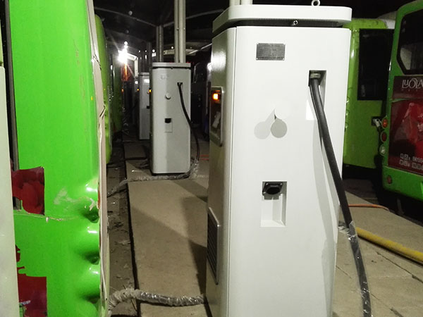 The DC Fast Charger has been successfully put into operation in Handan, Hebei Province