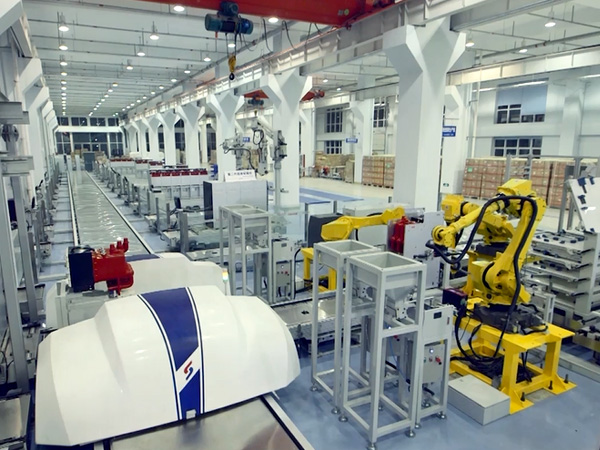 SOJO Electric production line
